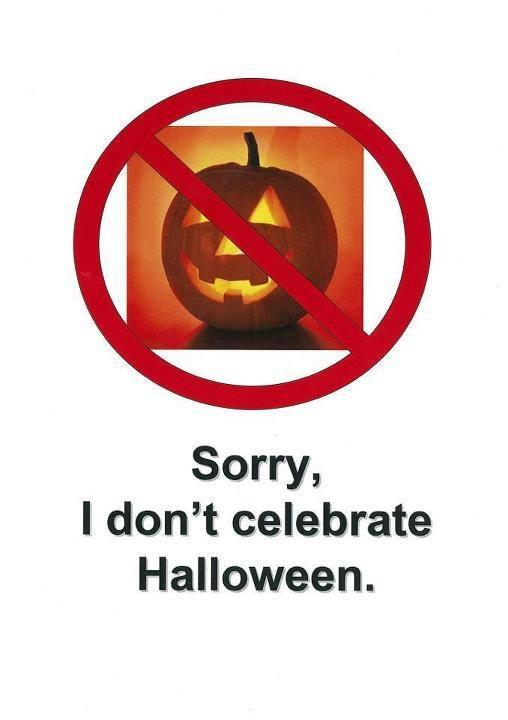 more conservative christians seem to be scared off by halloween as a pagan holiday this year though its not the protestants but the polish catholic